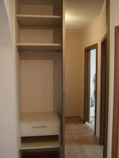 Встроенные шкафы-купе-Шкаф-купе с зеркалом «Модель 114»-фото4