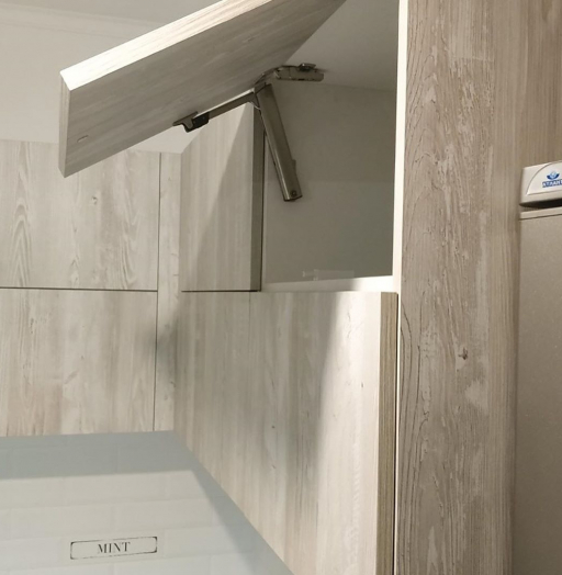 Белый кухонный гарнитур-Кухня из ЛДСП «Модель 626»-фото6