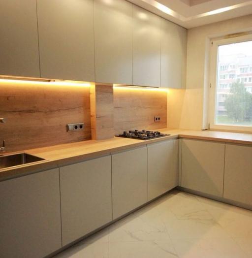 -Кухня МДФ в эмали «Модель 661»-фото17
