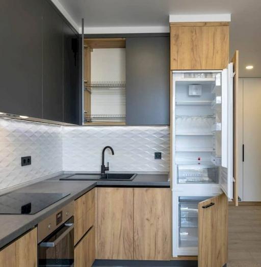 Купить кухню-Кухня из пластика «Модель 671»-фото5